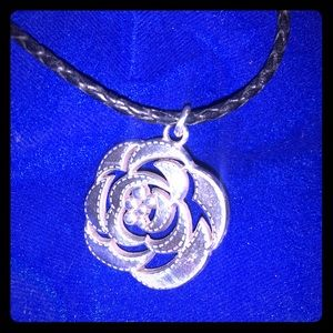 Brighton Necklace silver flower